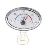 0-40 (° C) Point'er elíptico Termômetro Aquário de alta precisão Termômetro Exibição em tempo real Fácil de ler Termômetro