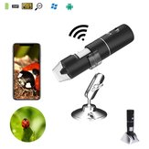 2MP Full HD 1080P WIFI Digital 1000x Microscope Magnifier Cámara para iPhone ios Android iPad Built-i