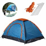 79x59x39inch 2 People Camping Tent Folding Waterproof Ultralight Sunshade Canopy Outdoor Travel Hiking