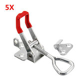 5Pcs 180Kg / 397Lbs Quick Latch Tipo Toggle Clamp Catch alavanca de alavanca ajustável