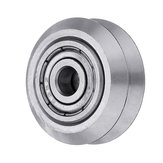 5pcs 625zz V Type Stainless Steel Pulley Concave Idler Gear With Bearing for 3D Printer