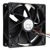 Antminer Bitmain S7 S9 için 6500RPM Soğutma Fanı Vovomay Değiştirme 4-pin Konektör