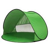 Outdoor 1-2 Pessoas Camping Tent Abertura Automática UV Praia Toldo Toldo
