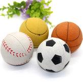 YaniTN-BG9Эластичныйнетоксичныйбезопасный материал Собака Игрушки для домашних животных Нет Мягкий укус Устойчивый мяч для тренировки