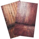 3x5FT 0.9x1.5m Holzmaserung Thin Kulisse Fotografie Hintergrund Studio Foto Props