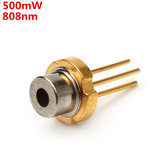 808nm 500mW Infrared IR Laser Diode LD TO-18 5.6mm
