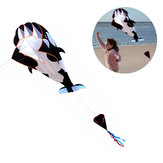 Outdoor 3D Walvis Software Kite Cartoon Animal vliegers Enkele lijn met handvat