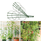 45 см Восхождение Vine Rack Стеллаж с пластиковым покрытием Растение Опорная рама Сад Балкон Растение Цветочная решетка