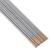10 Stücke WL15 150mm Länge WIG-Schweißen Wolframelektroden 1,0 / 1,6mm Golden Tip Stangen Set