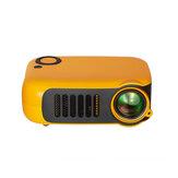 Mini projektor LCD 800 lumenów Projektor LED Inteligentne kino domowe z pilotem