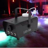 500W LED Wireless Remote Control Smoke Fog Machine DJ Disco Laser Stage Light Club Pub Christmas