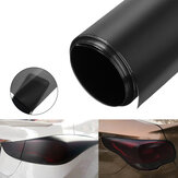 30x100 cm Matte Black Car DIY Tint Film Stickers PVC Decal Wrap voor Koplamp Mistlamp Staart Lamp