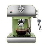 ZZUOM CM6867 850W Machine à café expresso 20 bars Semi-automatique Café Mousseur à lait vapeur Cafetière
