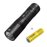 NITECORE R40 V2 XP-L2 V6 1200LM 344m USB-C Rechargeable Tactical Flashlight with 5000mAh 21700 Battery