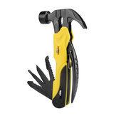 R'DEER RT-2345 7 w 1 Multi Mini Foldaway Survival Tool Pocket Hammer Plers Screwdriver Tools Set