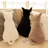 KC Super Cute Soft Plush Cat Back Sofa Pillow Cushion Stuffed Animal Doll Pillows
