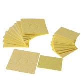 10Pcs Soldagem Solda Almofadas de limpeza de esponja de substituição de ponta de ferro 6 * 6cm / 3.5 * 5cm