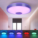 34 / 38cm Smart LED Deckenleuchte 256 RGB Bluetooth Musiklautsprecher Dimmbare Lampe APP Remote
