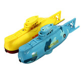 6CH Speed ​​Radio Controle Remoto Eletrônico Mini RC Submarine Boat Kids Children Toy