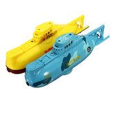 6CH Speed Radio Controle Remoto Eletrônico Mini RC Submarine Boat Kids Children Toy