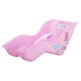 Kids Bicycle Back Seat Children's Doll Seat with Stickers Girls Baby Toy Seat Doll Fun & Cute Children Bike Toy