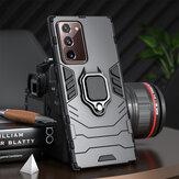 Bakeey Armor schokbestendig magnetisch met 360 rotatie vingerringhouder standaard pc beschermhoes voor Samsung Galaxy Note 20 / Galaxy Note20 5G