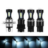 2قطع1156BA15S1157BAY15D T20 7440/7443 T25 3157 H4 LED سيارة بدوره أضواء مصباح الضباب Barke لمبة