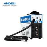 ANDELI Digital Household Single Phase 220V MIG-250ME MIG/MMA 2 in1 Welding Machine Flux Welding Gasless Welding Inverter Welder