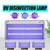 20/30/40 W Ultraviolet kiemdodende lamp Desinfectie-sterilisator UVC-sterilisatielamp voor thuis UV-sterilisatielamp