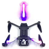 1 Stk 3 Color HD Bright Night Flight Arm Light Bult-in Batteri för FIMI X8 SE / Hubsan ZINO