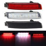 Pair LED Brake Tail Light Rear Bumper Reflector Lamp For Nissan Juke Murano Infiniti FX35 FX37
