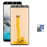 Montaje completo No muerto Pixel LCD Pantalla + Reemplazo del digitalizador de pantalla táctil + Reparación herramientas Para Samsung Galaxy A7 2018 A750 SM-A750F
