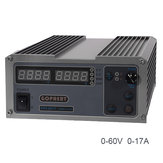 GOPHERT CPS-6017 0-60V 0-17A 220V 1000W High Power Digital Adjustable DC Power Supply