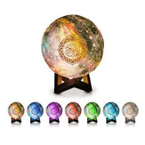 Portable LED bluetooth Remote Control Moon Light Speaker Wireless Hifi Colorful Light Quran Speaker