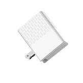 LDNIO A1405C chargeur rapide ordinateur portable tablette téléphone adaptateur secteur prise remplaçable UK / EU / US prise 40wpd tête de charge
