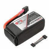 Gaoneng GNB 14.8V 1300mAh 4S 120C / 240C 19.24WH FPV Racing Lipo Batterie mit Ausgleichsdraht für RC Drone