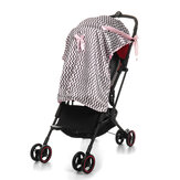 Baby Stroller Sunshade Breathable Muslin Pram Car Seat Canopy Blanket Outdoor Travel