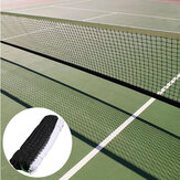 12.8M Outdoor Tennis Net Replacement Square Mesh Badminton Net Professional Training Against Tearing Sports Net