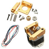Forward or Reverse Direction Metal Extruder Kit With NEMA 17 Stepper Motor For RepRap Prusa i3