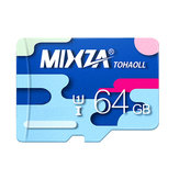 MIXZA Colorful Geheugenkaart 64GB TF-kaart Class10 voor smartphone Camera MP3