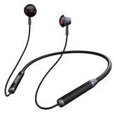Lenovo HE06 bluetooth V5.0 fejhallgató nyakpánt 9D HIFI sztereó zajcsökkentő fülhallgató izzadásálló mágneses nyakpánt sportos fülhallgató mikrofonnal