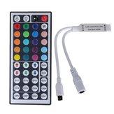 5 pcs 44 Teclas Mini IR Controle Remoto LED Controlador de Tira Para 3528 5050 RGB Luz