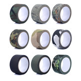 5cm*5m EONBON Outdoor Camping Guise Camouflage Strong Masking Tape For Flashlight Paiting Bike Car Wall Tree Painting Decoration Handle Belt