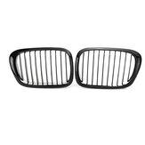 Grilles de rein avant noir brillant 2 pièces pour BMW E39 5-Series 525i 528i 530i 540i M5 1997-2003