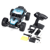 1801 1/18 2.4G FPV RC Car RTR Full Proportional Control Vehicle Model With 4k Camera Two Battery