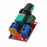 5 Stks DC 4.5 V DC 35 V 5A 90 W Mini DC Motor PWM Snelheidsregelaar Module Snelheidsregelaar Verstelbare Elektronische Switch Module Board