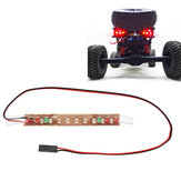 Feiyue Rear RC Car LED ضوء for FY03 FY05 FY06 1/12 RC نموذج Parts