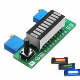 LM3914 Batterijcapaciteit Indicator Module LED Power Level Tester Display Board