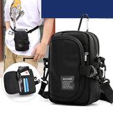 Exklusiv für Herren Schulter Diagonale Cross-Body Outdoor Sport Handy Geldbeutel Oxford Cloth Multifunktions-Sporttaschen