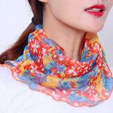 Protetor solar para mulheres Multiuso UV Proteção Verão Capa ao ar livre Proteção para o pescoço Proteção para o rosto Respirável Rosto fino Máscara Lenço de seda